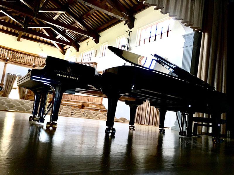 noleggio pianoforti per concerti